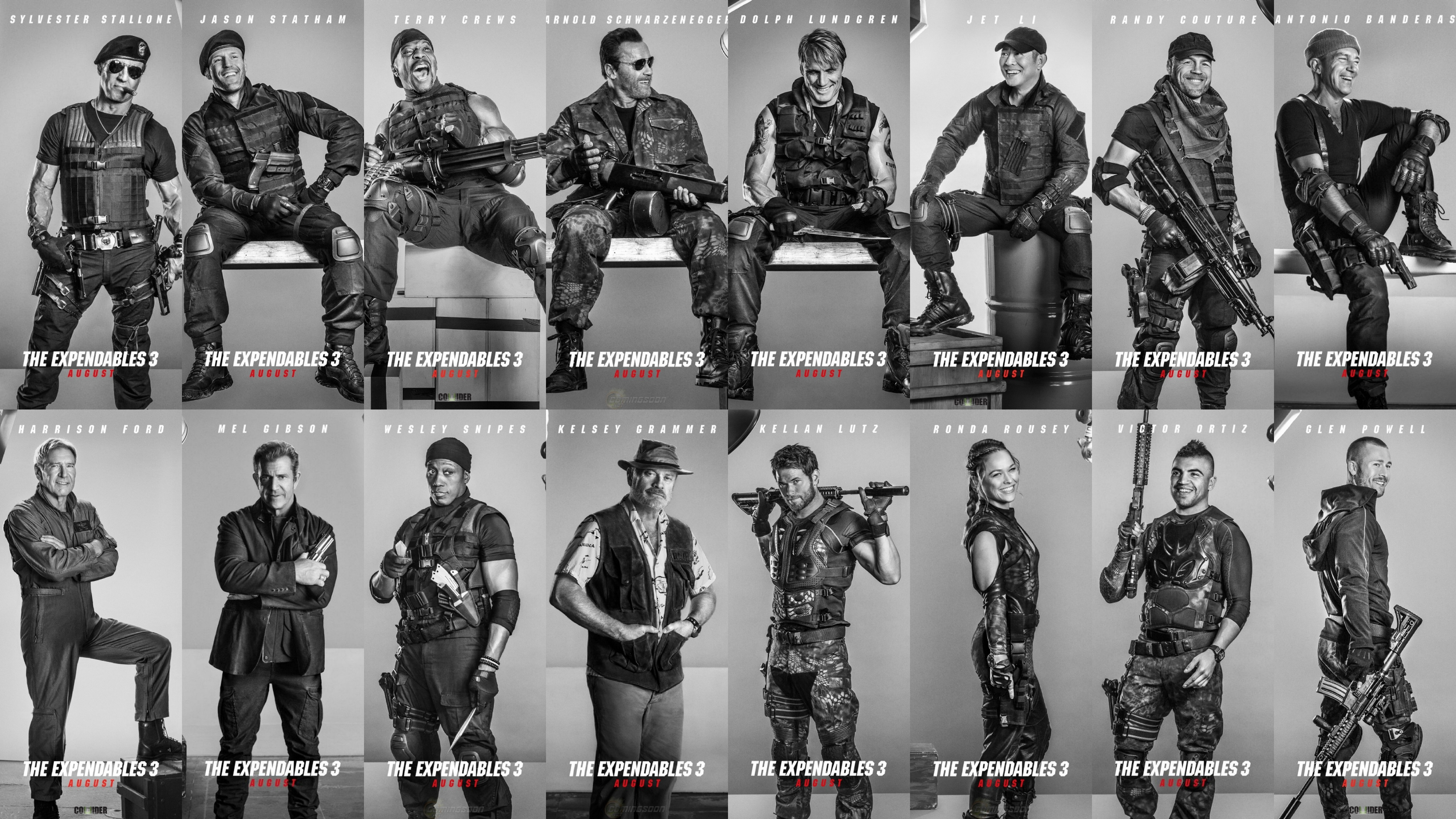 maac � new images from the expendables 3