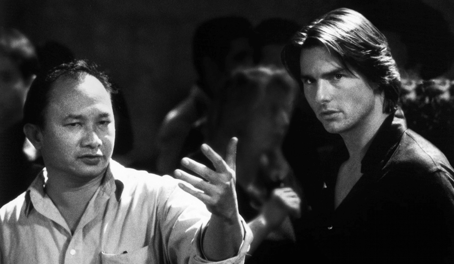 john woo Enough with the fucking birds already: a john woo film john woo, the  directorial guru of action, the master of violence his stylized action sequences  were hip.