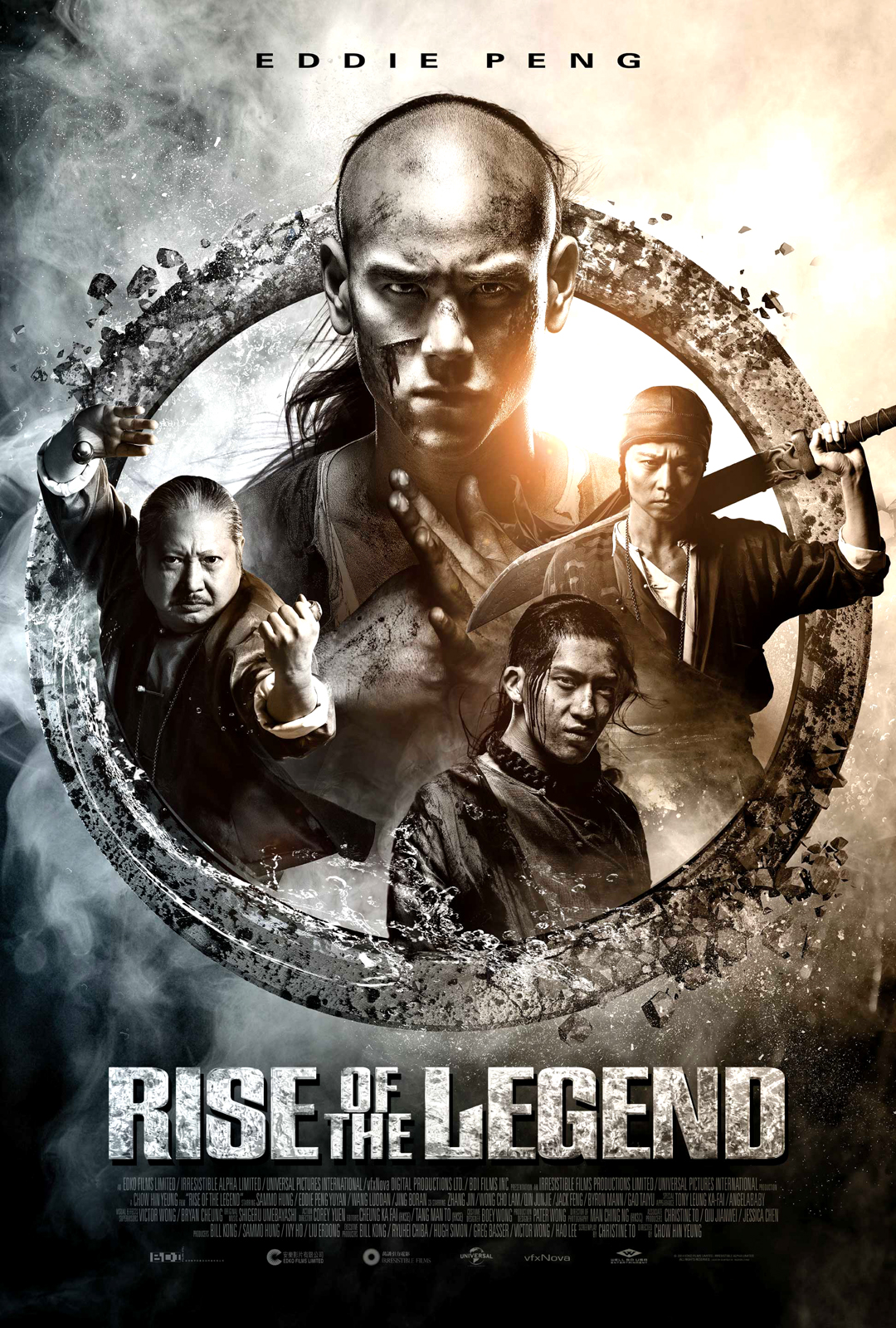U S Poster For Rise Of The Legend Starring Eddie Peng Sammo Hung