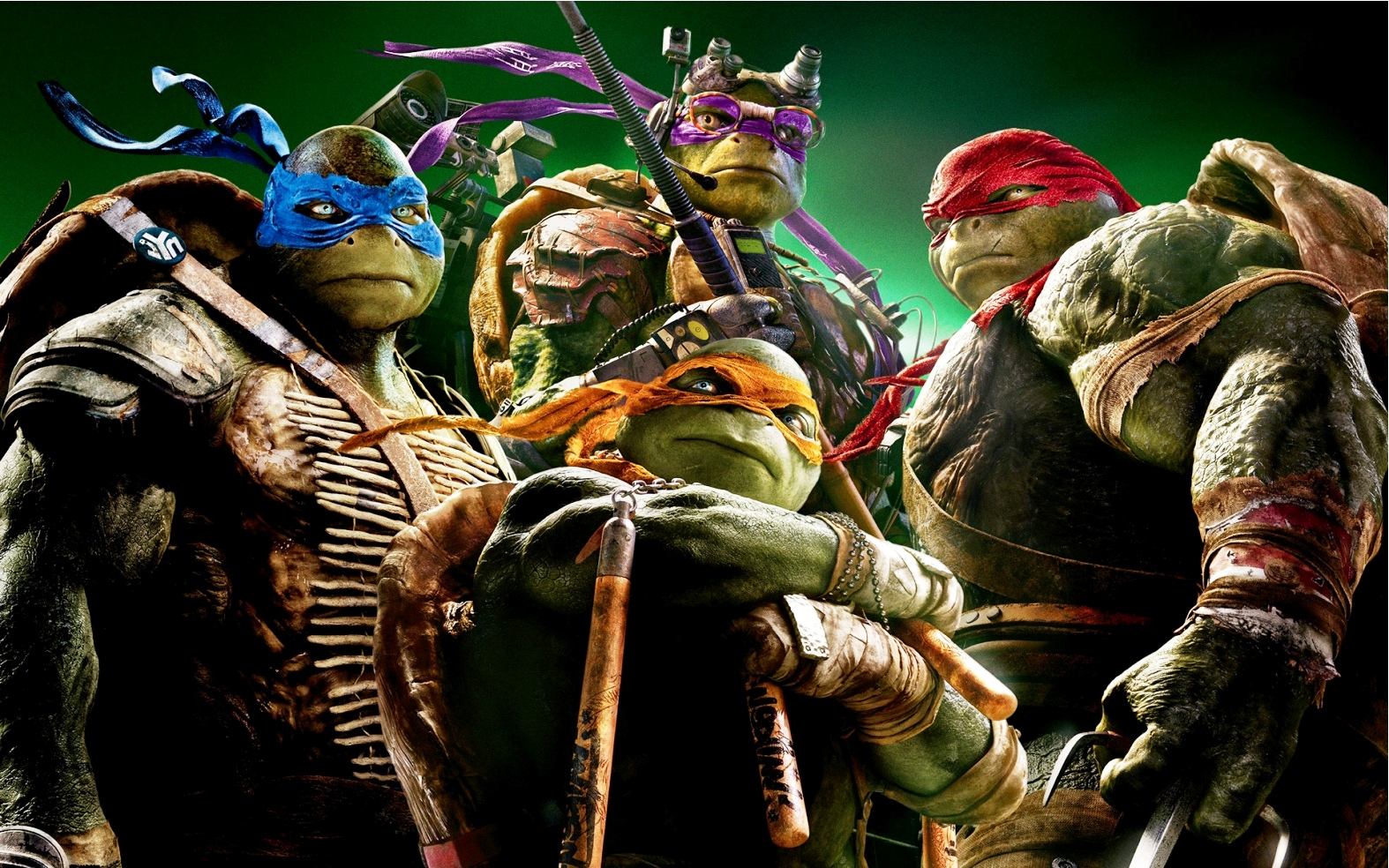 First trailer for teenage mutant ninja turtles 2 out of the