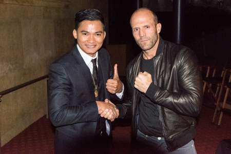Tony Jaa And The Rock