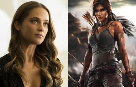 <h3>ALICIA VIKANDER Cast As &#8216;Lara Croft&#8217; In TOMB RAIDER Reboot. UPDATE: On Set Images</h3>