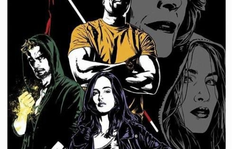 <h3>Latest Poster For Netflix&#8217;s THE DEFENDERS. UPDATE: Final Trailer</h3>