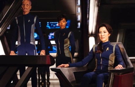 <h3>MICHELLE YEOH Goes To Deep Space In STAR TREK: DISCOVERY Series. UPDATE: Trailer</h3>