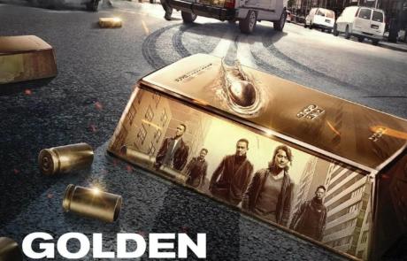 <h3>Poster For The Heist Comedy GOLDEN JOB Starring EKIN CHENG &#038; JORDAN CHAN. UPDATE: Trailer</h3>