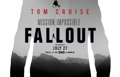 <h3>Trailer For MISSION: IMPOSSIBLE &#8211; FALLOUT Starring TOM CRUISE. UPDATE: International Poster</h3>
