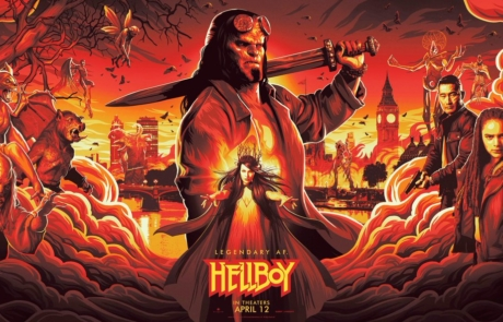 <h3>MILLA JOVOVICH Joins DAVID HARBOUR In HELLBOY Reboot. UPDATE: First Poster</h3>