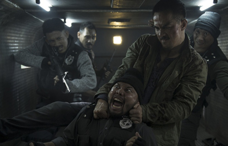 <h3>Fight Clip From THE NIGHT COMES FOR US Starring JOE TASLIM, JULIE ESTELLE &#038; IKO UWAIS</h3>