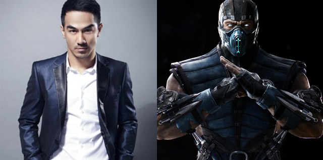 sub zero mortal kombat characters with masks
